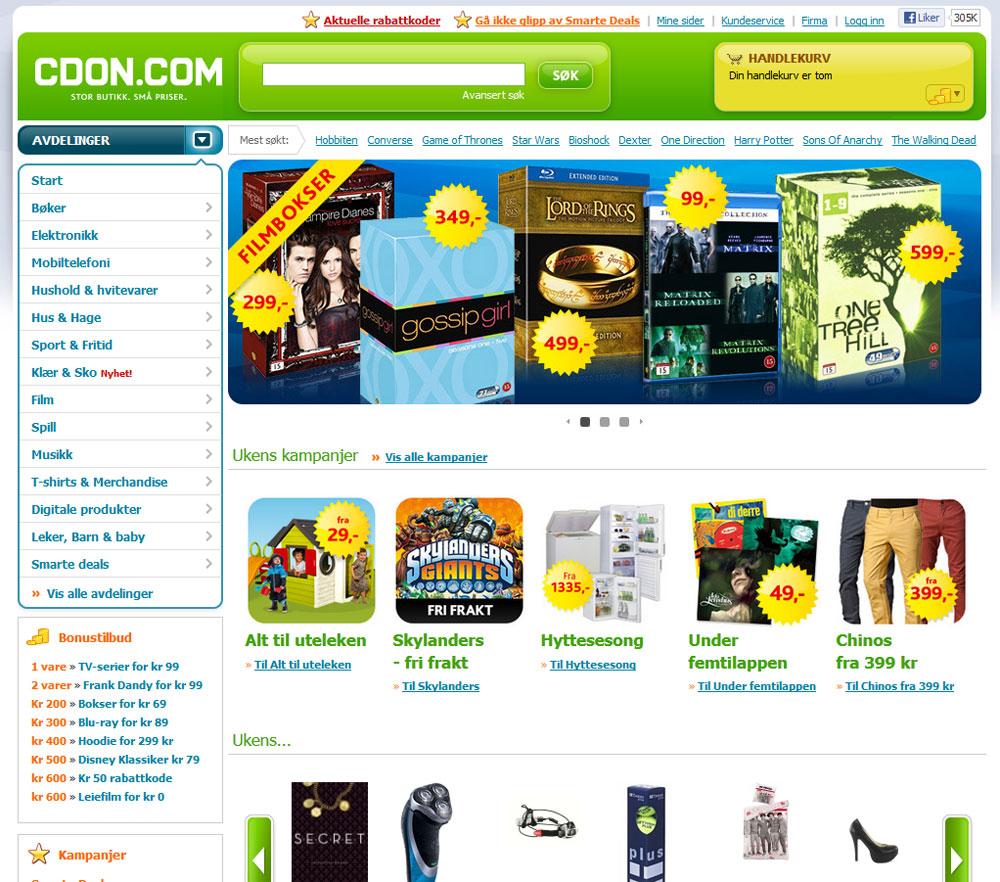 CDON Nettbutikk