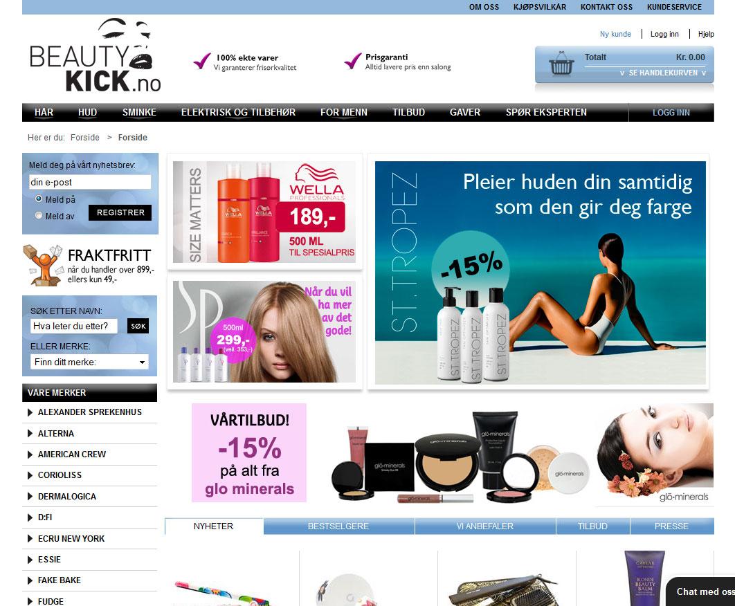 Beautykick Nettbutikk