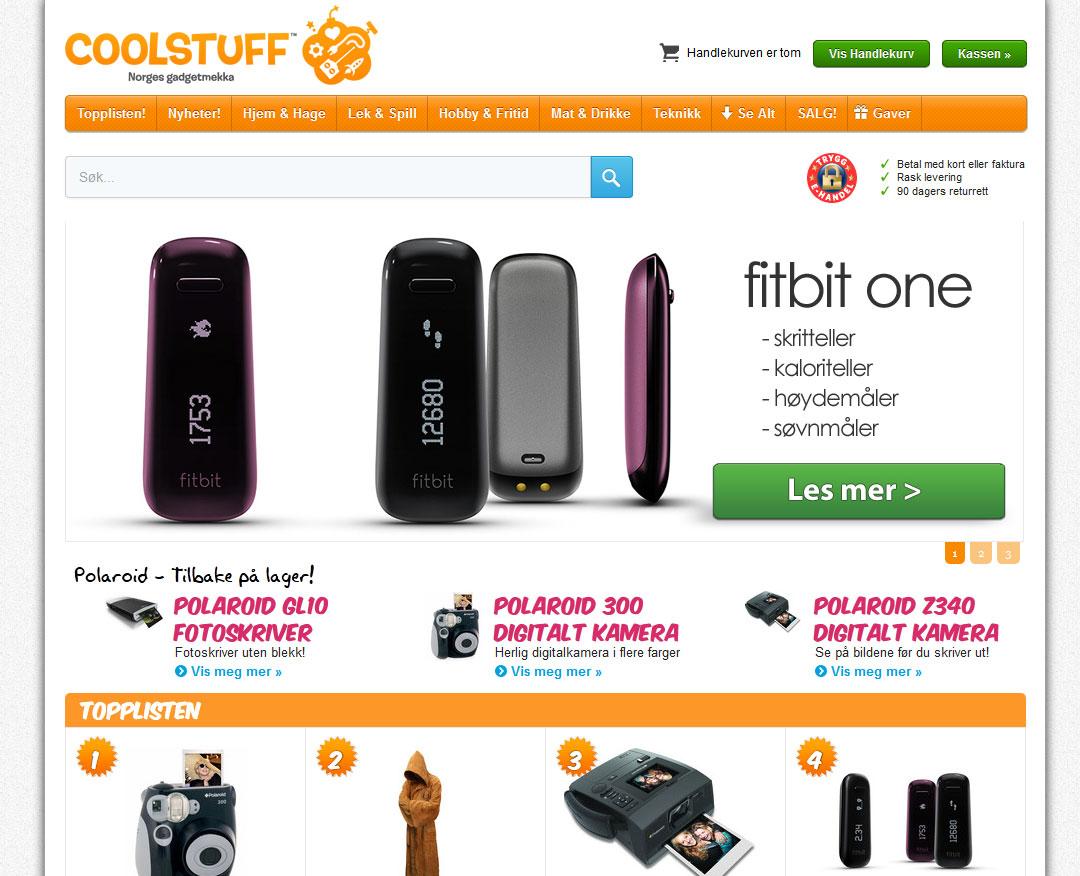 Coolstuff Nettbutikk