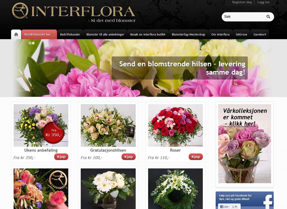 interflora_nettbutikk