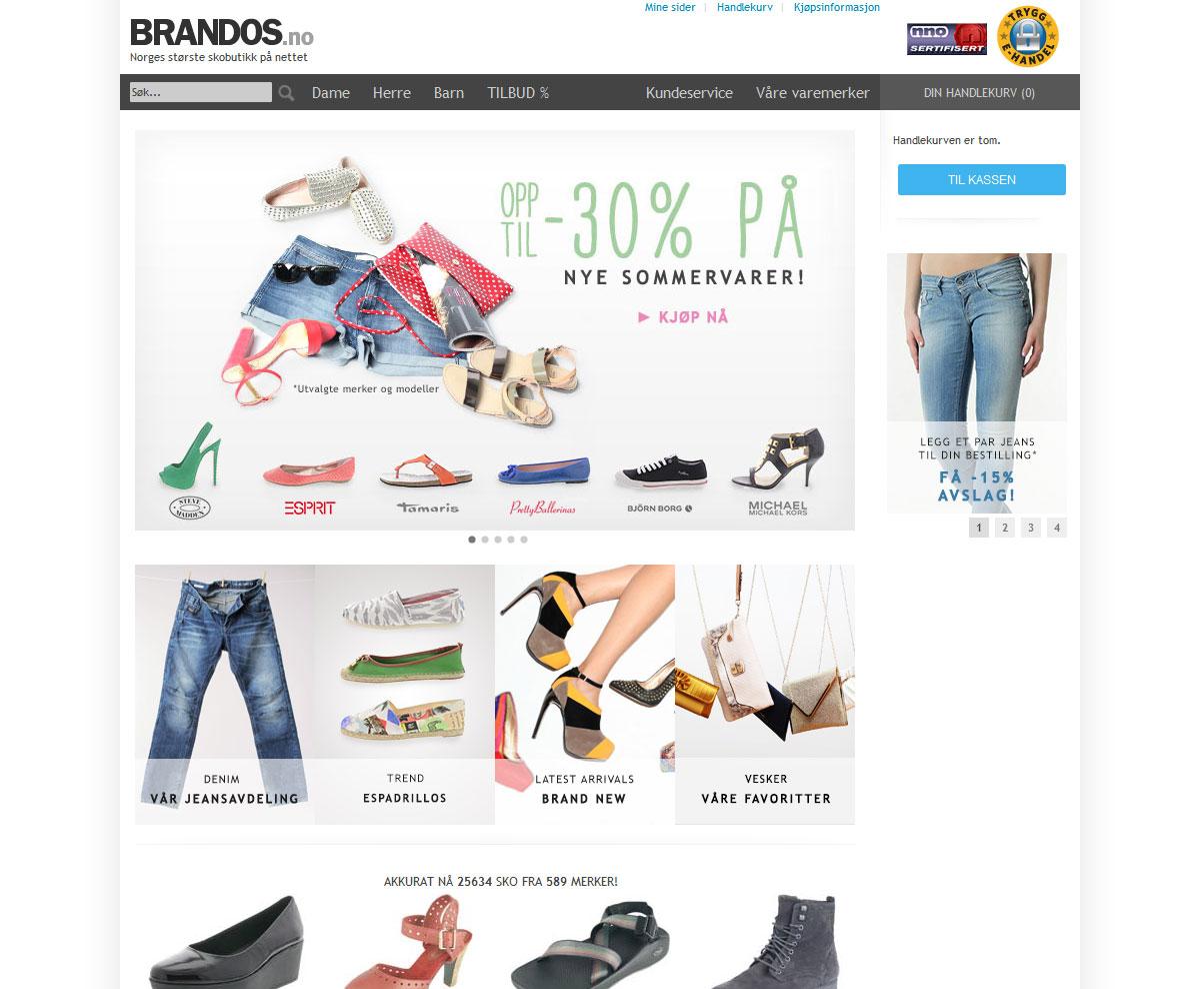Brandos Nettbutikk