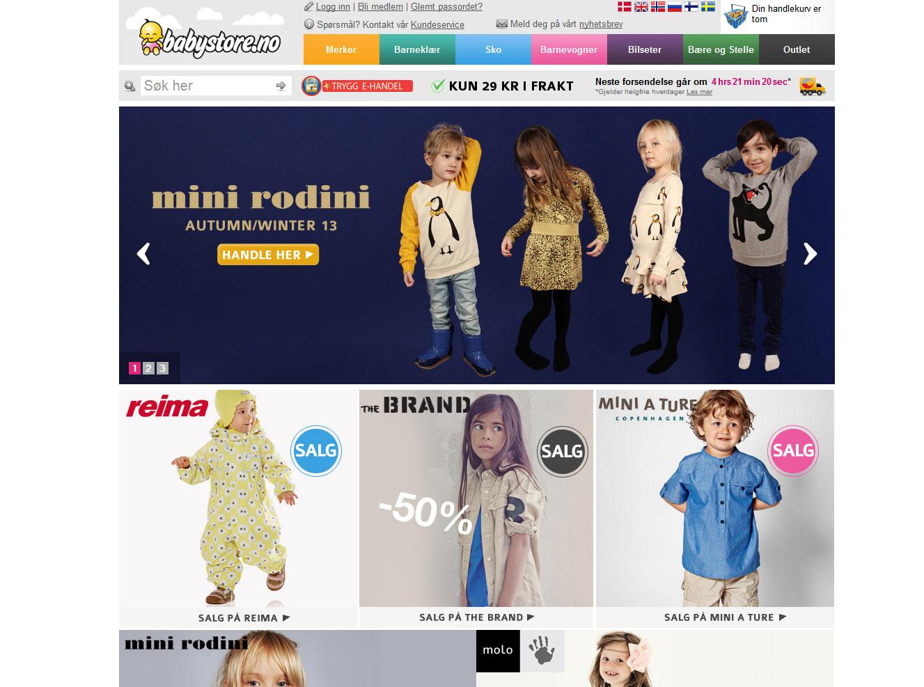 Babystore Nettbutikk