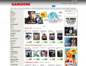 Gamezone Nettbutikk