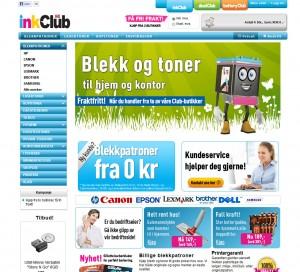 InkClub nettbutikk