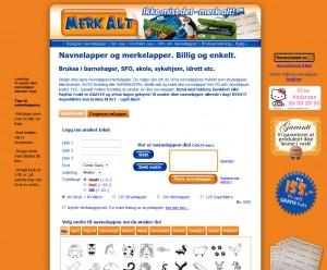 MerkAlt nettbutikk