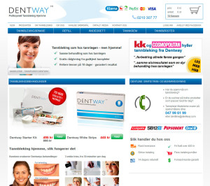 Dentway nettbutikk