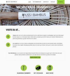 Pussmedbambus nettbutikk