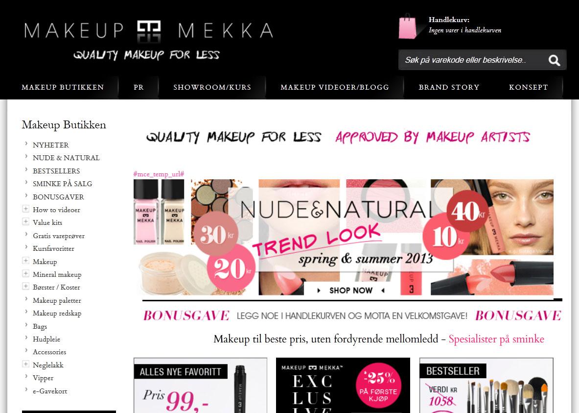 Makeupmekka Nettbutikk