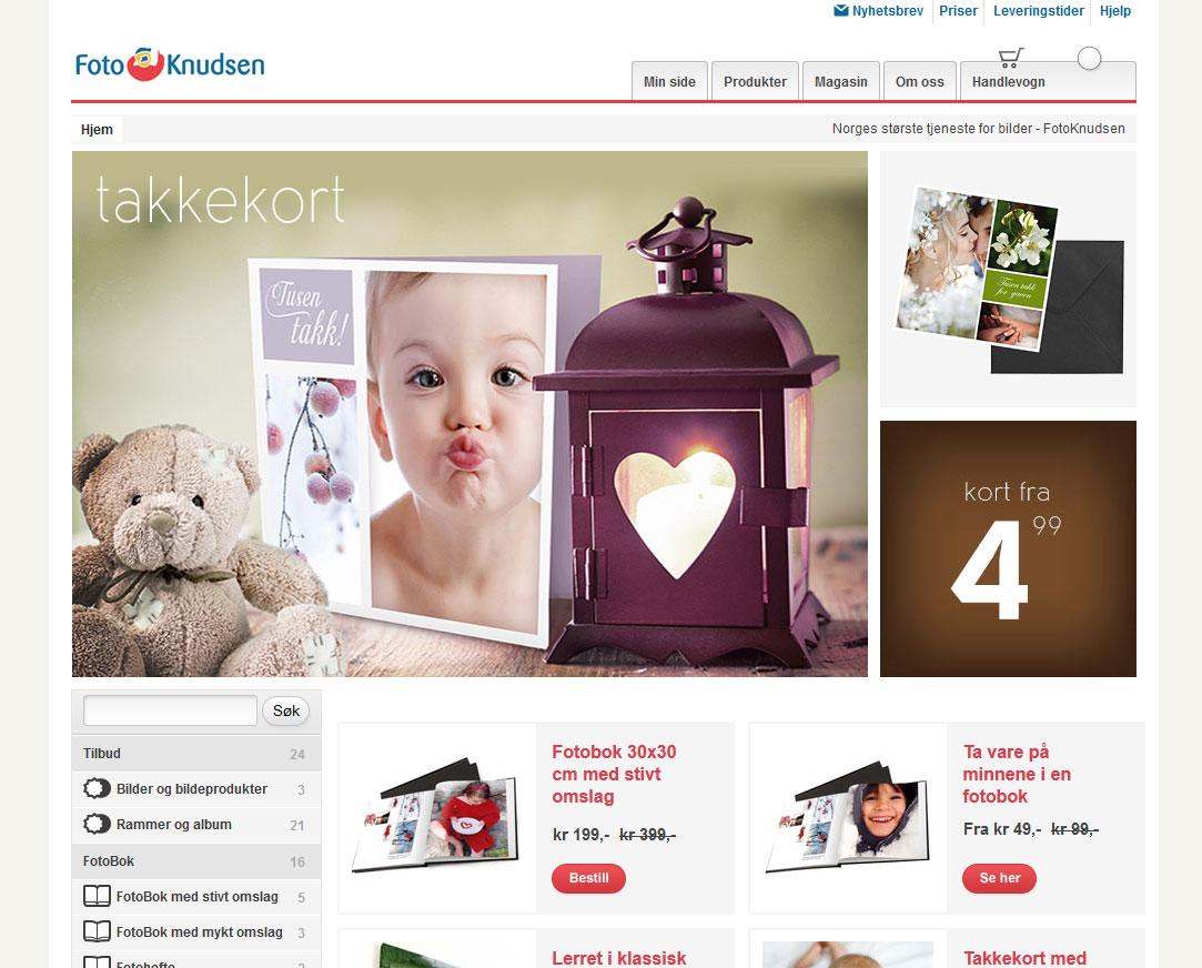 FotoKnudsen Nettbutikk