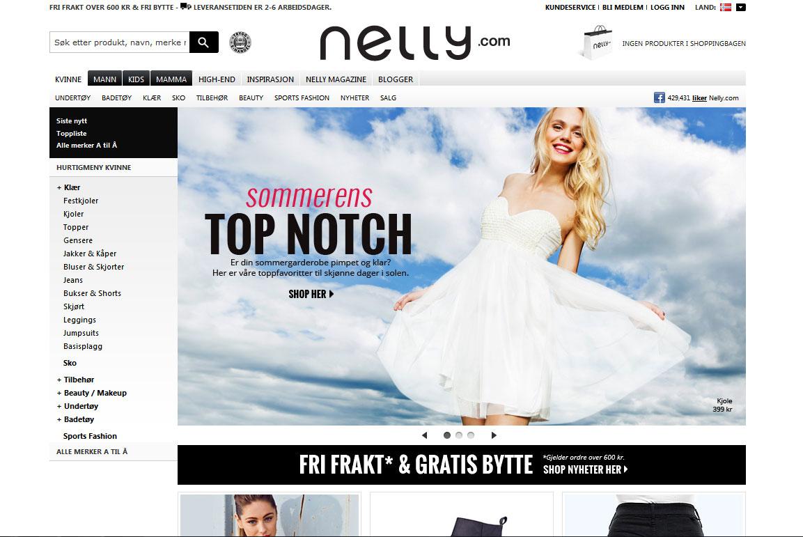 Nelly Nettbutikk