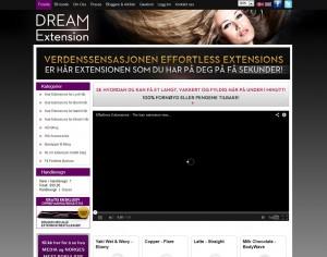 Dreamextension Nettbutikk