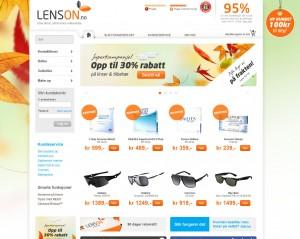 Lenson nettbutikk