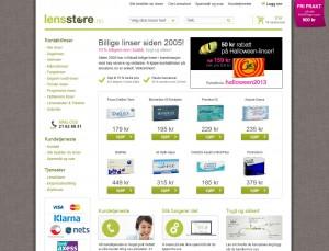 Lensstore netbutikk