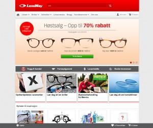 Lensway nettbutikk
