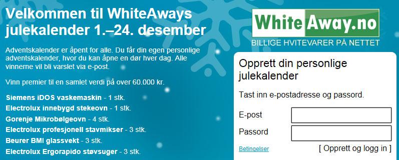 WhiteAway julekalender