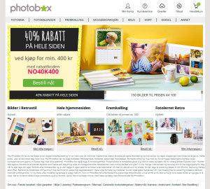 Photobox nettbutikk