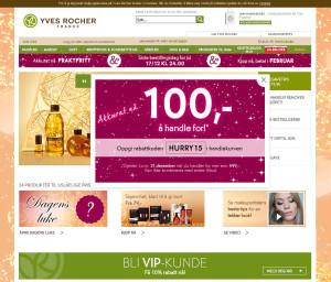 YvesRocher nettbutikk
